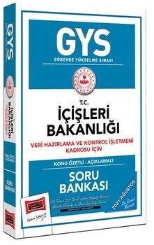 Yargı Yayınları GYS İçişleri Bakanlığı Veri Hazırlama ve Kontrol İşletmeni Kadrosu İçin Konu Özetli Soru Bankası