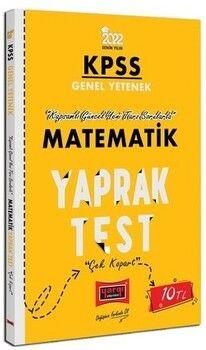 Yargı Yayınları 2022 KPSS Lisans GY Matematik Yaprak Test