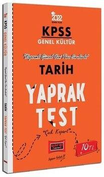 Yargı Yayınları 2022 KPSS Lisans GK Tarih Yaprak Test