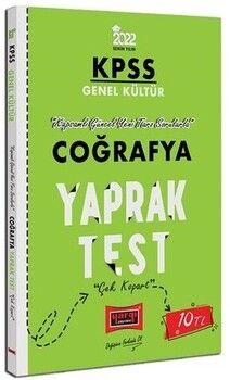 Yargı Yayınları 2022 KPSS Lisans GK Coğrafya Yaprak Test