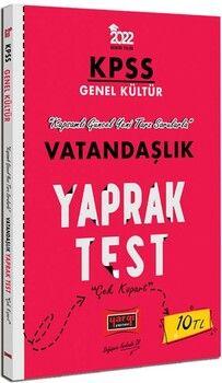 Yargı Yayınları 2022 KPSS Lisans GK Vatandaşlık Yaprak Test