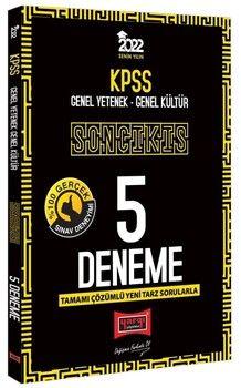 Yargı Yayınları 2022 KPSS GY GK Son Çıkış Tamamı Çözümlü 5 Deneme