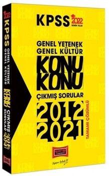Yargı Yayınları 2022 KPSS GY GK Konu Konu Tamamı Çözümlü Çıkmış Sorular