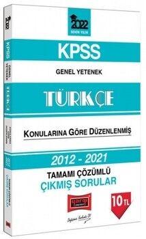 Yargı Yayınları 2022 KPSS Genel Yetenek Türkçe Tamamı Çözümlü Çıkmış Sorular
