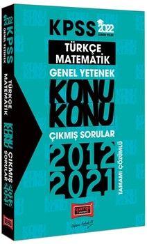 Yargı Yayınları 2022 KPSS Genel Yetenek Konu Konu Çıkmış Sorular