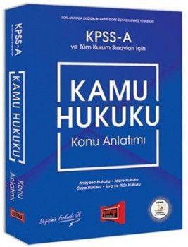 Yargı Yayınları KPSS A Grubu Kamu Hukuku Konu Anlatımı
