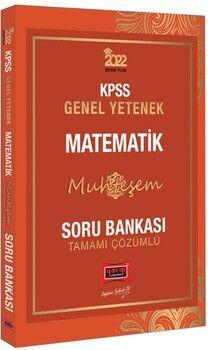 Yargı Yayınları 2022 KPSS Genel Yetenek Muhteşem Matematik Tamamı Çözümlü Soru Bankası