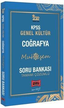 Yargı Yayınları 2022 KPSS Genel Kültür Muhteşem Coğrafya Tamamı Çözümlü Soru Bankası