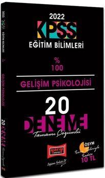 Yargı Yayınları 2022 KPSS Eğitim Bilimleri Gelişim Psikolojisi Tamamı Çözümlü 20 Deneme