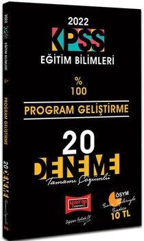 Yargı Yayınları 2022 KPSS Eğitim Bilimleri Program Geliştirme Tamamı Çözümlü 20 Deneme