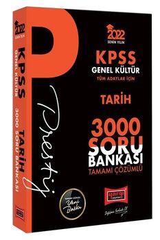 Yargı Yayınları 2022 KPSS Genel Kültür Tarih Prestij Seri Tamamı Çözümlü 3000 Soru Bankası