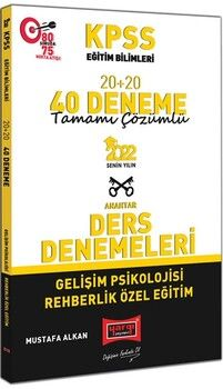 Yargı Yayınları2022 KPSS Eğitim Bilimleri Gelişim Psikolojisi Rehberlik Özel Eğitim Tamamı Çözümlü 20+20 40 Deneme