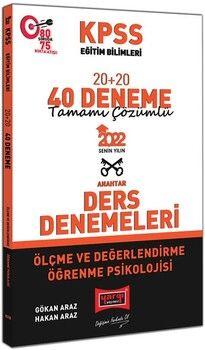 Yargı Yayınları2022 KPSS Eğitim Bilimleri Ölçme ve Değerlendirme Öğrenme Psikolojisi Tamamı Çözümlü 20+20 40 Deneme