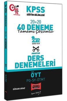 Yargı Yayınları2022 KPSS Eğitim Bilimleri ÖYT PG SY ÖTMT Tamamı Çözümlü 20+20 40 Deneme
