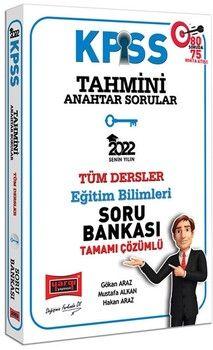 Yargı Yayınları2022 KPSS Eğitim Bilimleri Tahmini Anahtar Sorular Tamamı Çözümlü Tüm Dersler Soru Bankası