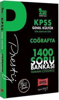 Yargı Yayınları2022 KPSS Genel Kültür Coğrafya Prestij Seri Tamamı Çözümlü 1400 Soru Bankası