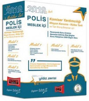 Yargı Yayınları 2019 Polis Meslek İçi Sınavlarına Hazırlık Konu Anlatımlı Modüler Set 5. Baskı