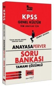 Yargı Yayınları 2022 KPSS Genel Kütlür Tüm Adaylar İçin AnayasaPerver Tamamı Çözümlü Soru Bankası