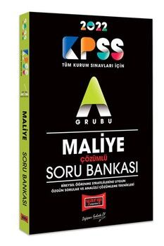 Yargı Yayınları 2022 KPSS A Grubu Maliye Çözümlü Soru Bankası