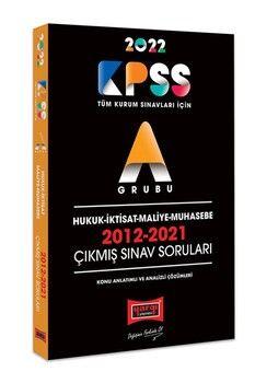 Yargı Yayınları 2022 KPSS A Grubu Hukuk İktisat Maliye Muhasebe 2012 2021 Çıkmış Sınav Soruları