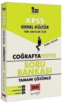 Yargı Yayınları 2022 KPSS Genel Kültür Tüm Adaylar İçin CoğrafyaPerver Tamamı Çözümlü Soru Bankası