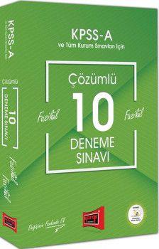 Yargı Yayınları KPSS A Grubu Çözümlü 10 Fasikül Deneme Sınavı