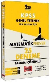 Yargı Yayınları 2022 KPSS Genel Yetenek MatematikPerver Tüm Adaylar İçin Tamamı Çözümlü 25 Deneme