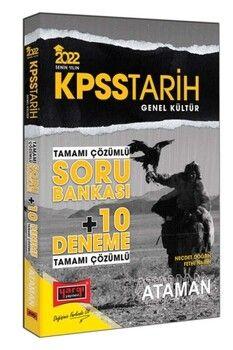 Yargı Yayınları 2022 KPSS Genel Kültür Tarih Ataman Tamamı Çözümlü Soru Bankası + 10 Deneme