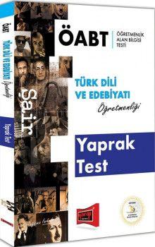 Yargı Yayınları ÖABT Şair Türk Dili ve Edebiyatı Öğretmenliği Yaprak Test