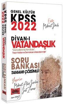 Yargı Yayınları 2022 KPSS Divanı Vatandaşlık Soru Bankası