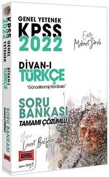 Yargı Yayınları 2022 KPSS Divanı Türkçe Soru Bankası