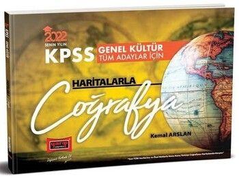 Yargı Yayınları 2022 KPSS Haritalarla Coğrafya