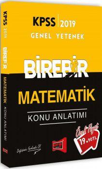 Yargı Yayınları 2019 KPSS Genel Yetenek Birebir Matematik Konu Anlatımı