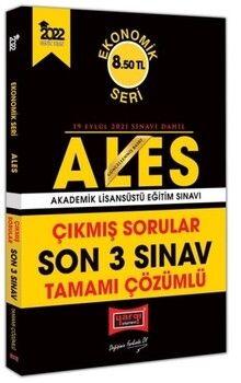 Yargı Yayınları 2022 ALES Ekonomik Seri Tamamı Çözümlü Son 3 Sınav Çıkmış Sorular