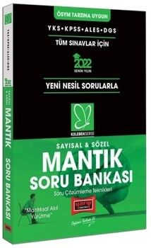 Yargı Yayınları 2022 YKS KPSS ALES DGS Kelebek Serisi Sayısal Sözel Mantık Soru Bankası