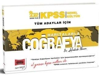 Yargı Yayınları 2022 KPSS Genel Kültür Tüm Adaylar İçin El Yazısı Notları İle Haritalarla Coğrafya