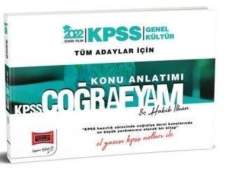 Yargı Yayınları 2022 KPSS Genel Kültür Tüm Adaylar İçin El Yazısı KPSS Notları İle Coğrafyam Konu Anlatımı