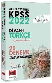 Yargı Yayınları 2022 KPSS Genel Yetenek Divanı Türkçe Tamamı Çözümlü 20 Deneme