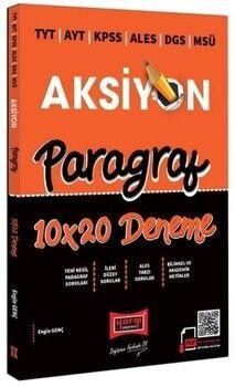Yargı Yayınları 2022 TYT AYT KPSS ALES DGS MSÜ Aksiyon Paragraf 10 x 20 Deneme