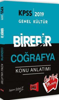 Yargı Yayınları 2019 KPSS BİREBİR Coğrafya Konu Anlatımı
