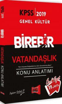 Yargı Yayınları 2019 KPSS BİREBİR Vatandaşlık Konu Anlatımı