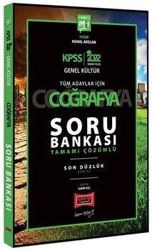 Yargı Yayınları 2022 KPSS Coğrafya Son Düzlük Soru Bankası
