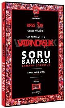 Yargı Yayınları 2022 KPSS Vatandaşlık Son Düzlük Soru Bankası