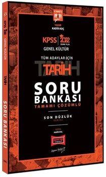 Yargı Yayınları2022 KPSS Tarih Genel Kültür Tüm Adaylar İçin Son Düzlük 5 Yargıç Tamamı Çözümlü Soru Bankası