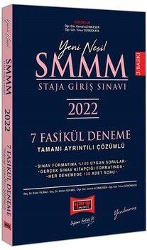 Yargı Yayınları 2022 SMMM Staja Giriş Sınavı Tamamı Ayrıntılı Çözümlü 7 Fasikül Deneme Yenilenmiş 3. Baskı