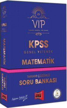 Yargı Yayınları KPSS Genel Yetenek Matematik VIP Tamamı Çözümlü Soru Bankası