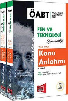 Yargı Yayınları ÖABT Fen ve Teknoloji Öğretmenliği Konu Anlatımı