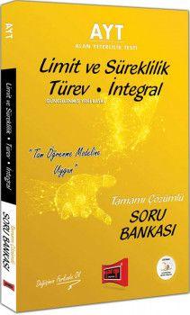 Yargı Yayınları AYT Limit ve Süreklilik Türev İntegral Tamamı Çözümlü Soru Bankası