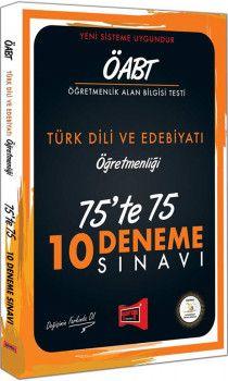Yargı Yayınları ÖABT Türk Dili ve Edebiyatı Öğretmenliği 75te 75 10 Deneme Sınavı