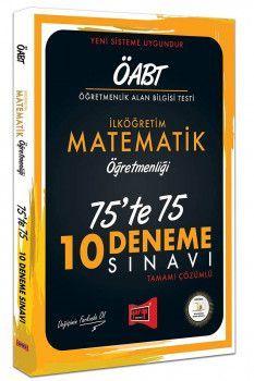 Yargı Yayınları ÖABT İlköğretim Matematik Öğretmenliği 75 te 75 10 Deneme Sınavı